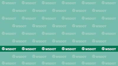 Virtual Background 17 - WSDOT logo on green
