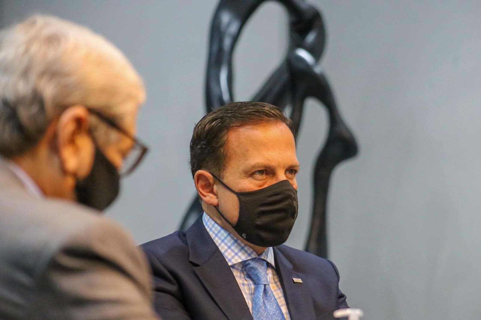 Reunião virtual entre os Governadores e o Ministério da Saúde