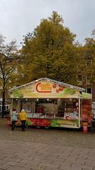 """Verkaufsstand """"Creativ Pizza"""" im Rahmen der Osnabrücker Aktion """"Schausteller in der City"""""""