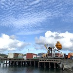 20. Oktoober 2020 - 11:52 - Cloudy Skies over the Wharf