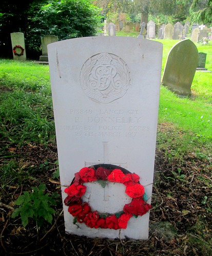 Overleigh 'Old' Cemetery, Chester War Grave 6