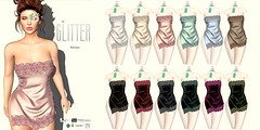 Glitter MIRIAM Fitmesh Lingerie COLORS AD