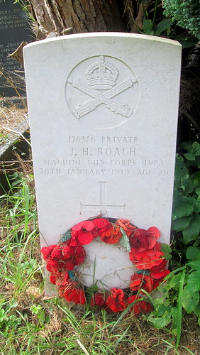 Overleigh 'Old' Cemetery, Chester, War Grave 9