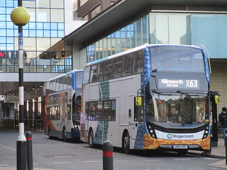 Stagecoach North East 11501. Blackett Street, Newcastle