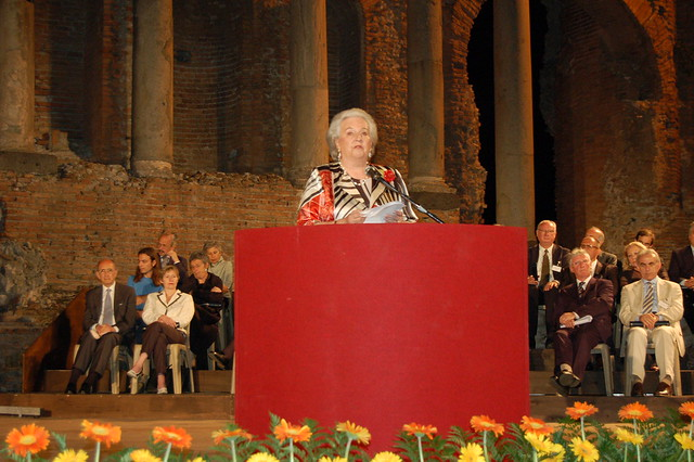 Tribute - HRH Infanta Doña Pilar - Ceremony Taormina
