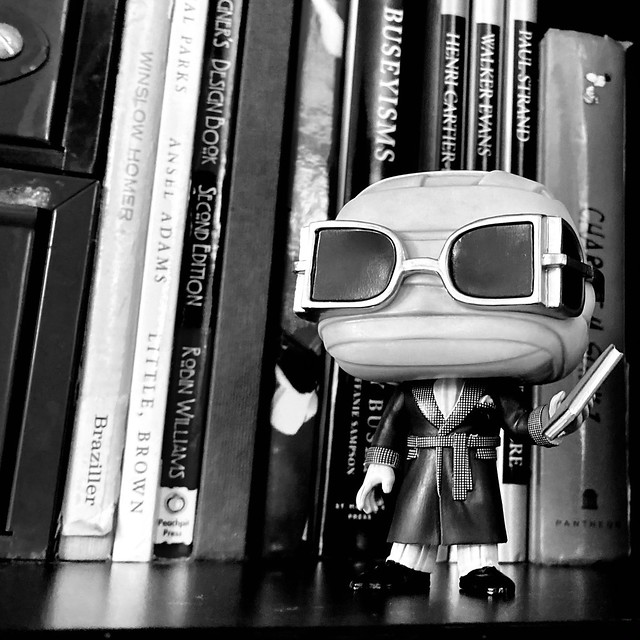 #October 20, #FunkoPhotoADay challenge #shelfie featuring The Invisible Man.
