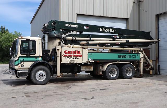 Gazella Concrete Pumping Truck