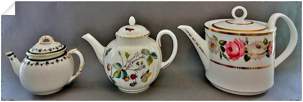 Royal Worcester Teapots