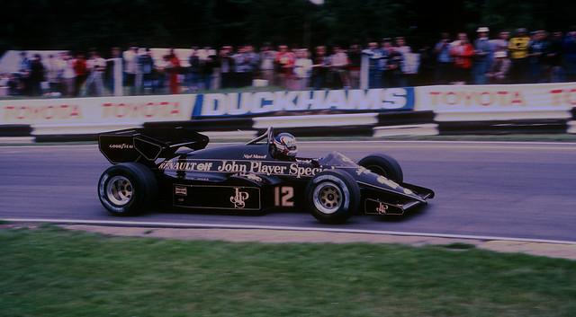 British Grand Prix, Brands Hatch, August 1984