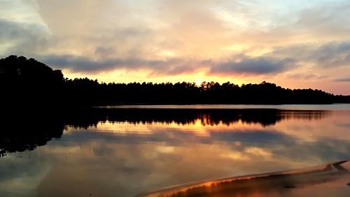 nj sunset colliersmills jackson newjersey