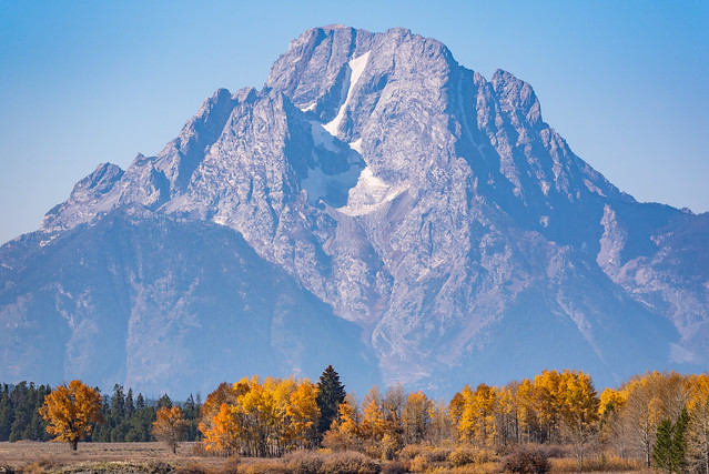 Mount Moran with Fall Colors