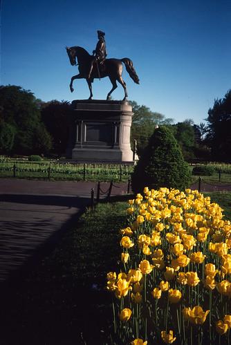 Washington in Boston's Public Garden (2)