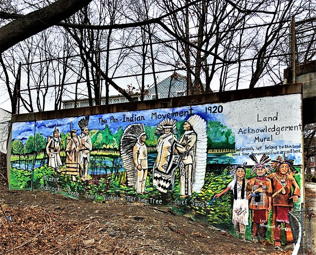 Land Acknowledgement Mural