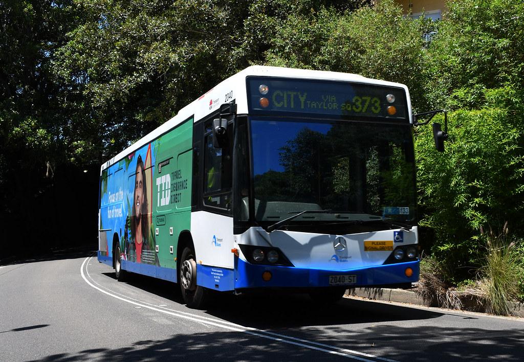 Bus 2553, Coogee, Sydney, NSW.