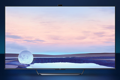 The 65-inch OPPO TV S1 features a 4K QLED resolution Quantum Dot NTSC 120% ultra-wide color gamut display with 120Hz refresh rate.