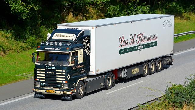 DK - Scania 143 V8 - Lars M. Klemmensen