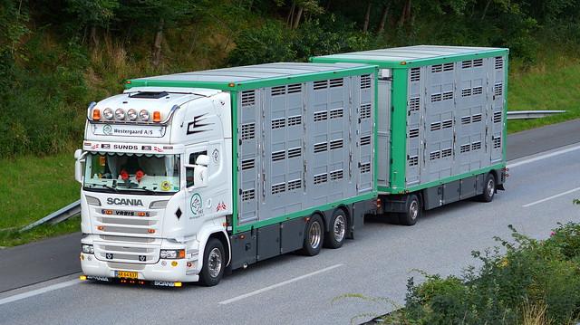 DK - Scania R Streamline V8 Topline - H&S Westergaard
