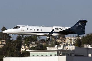 N225GP - Learjet 60 -  Charter Airlines - KSAN - 14 Oct 2020