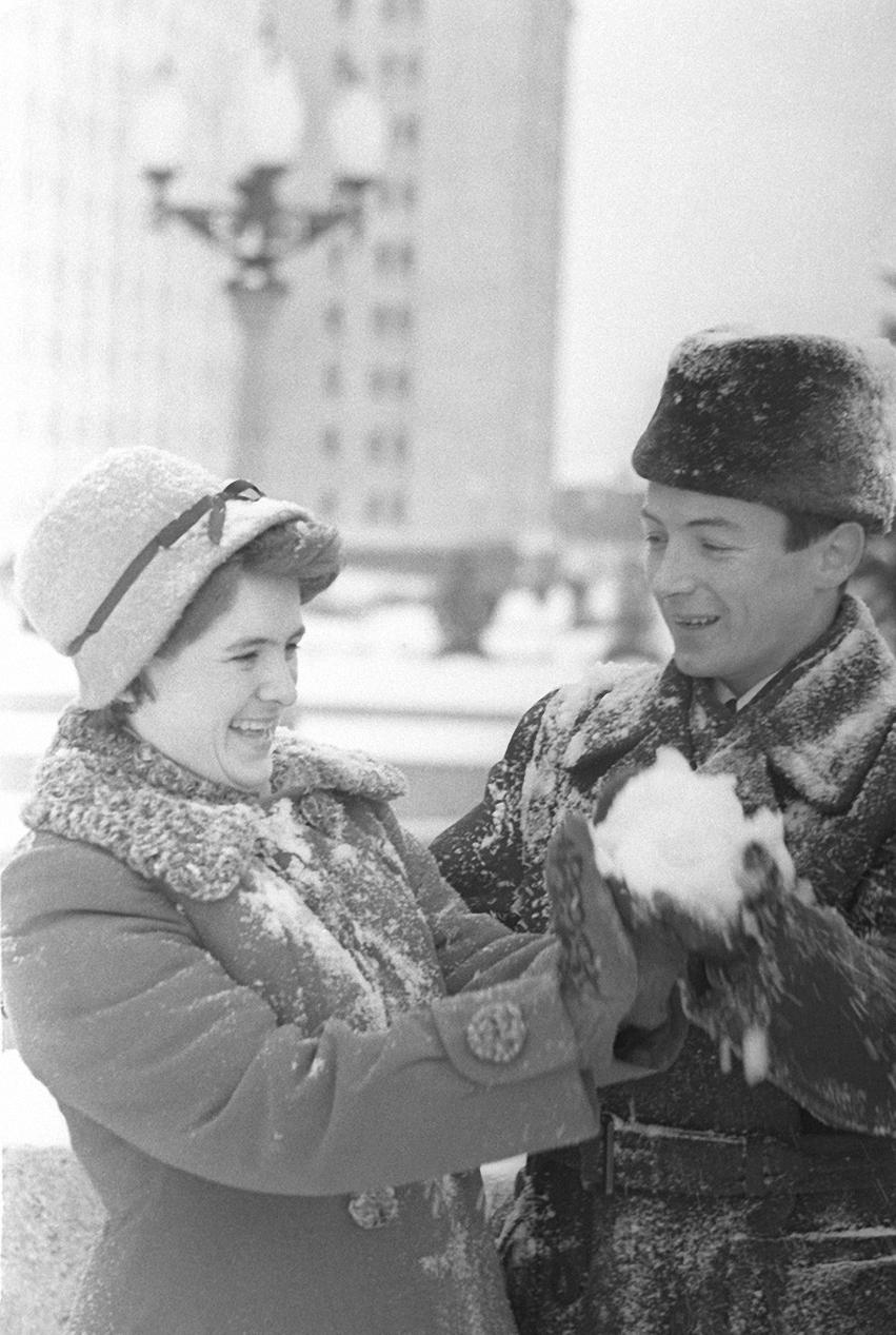 1959—1961. Ленинские горы (ныне Воробьевы), здание МГУ имени М. В. Ломоносова