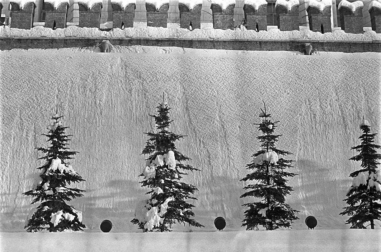 1957. Кремлевская стена