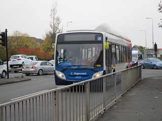 Stagecoach North East 28035. Gateshead Stadium