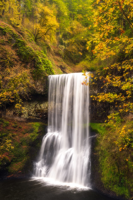 Silver Falls State Park in Autumn 2020