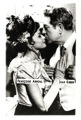 Françoise Arnoul and Jean Gabin in French Cancan (1955)
