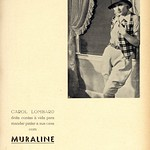 Wed, 2020-10-21 12:46 - Advertising to the paints Muraline with the portrait of the american actress Carole Lombard.  Publicidade às tintas Muraline com o retrato da actriz americana Carole Lombard.  in: Movimento : quinzenário cinematográfico, N.º 6, 15 de Setembro de 1933.  magazine link: hemerotecadigital.cm-lisboa.pt/Periodicos/Movimento/Movim...  page link: hemerotecadigital.cm-lisboa.pt/Periodicos/Movimento/N06/N...