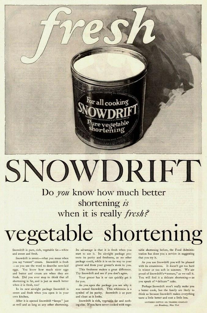 Snowdrift 1919