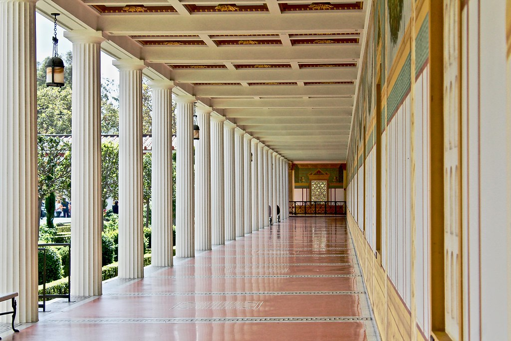 Getty Villa - Outer Peristyle - North Corridor