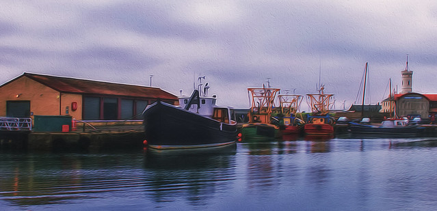 Fishing Boats of Arbroath