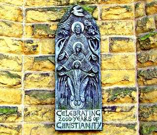 Plaque on the wall of a Preston Church | by Tony Worrall