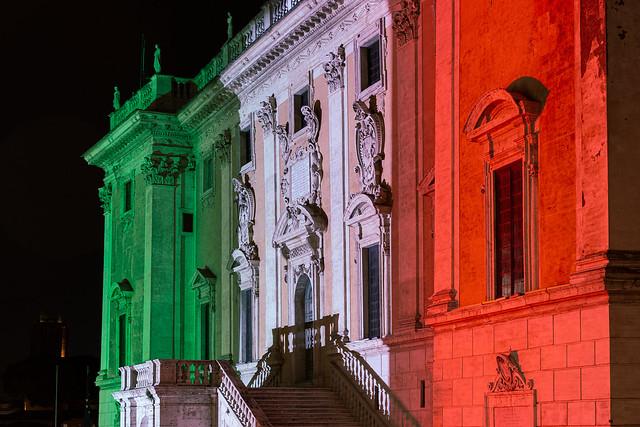 Italy colors: Palazzo Senatorio