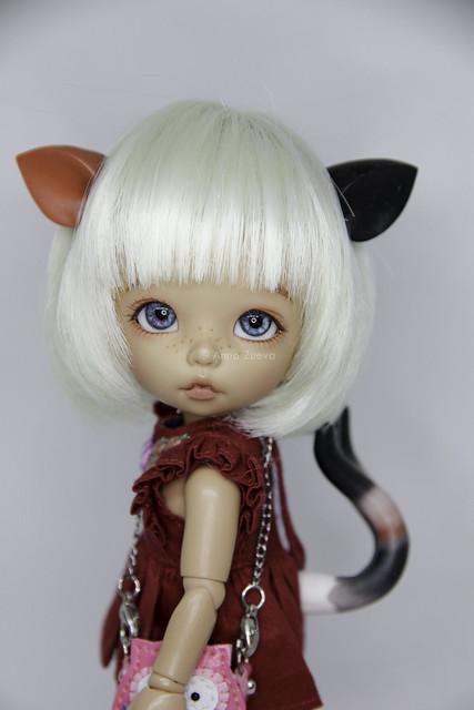 Calico Cat Set 1/8