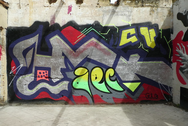 graffiti, Hangar Darwin, Bordeaux