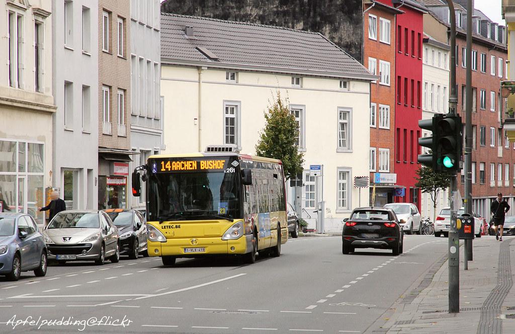 Bunte Buswelt - Aachen