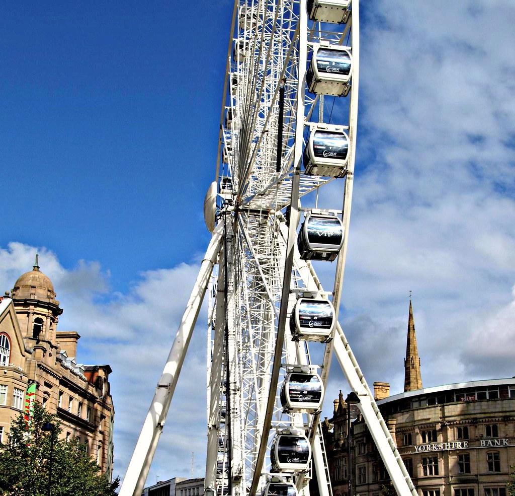 A Big Wheel in Sheffield, Yorkshire