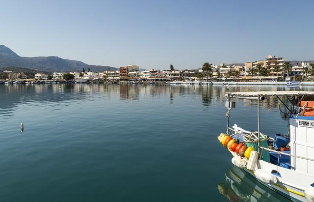 Kreta - Sitia - Port - wrzesień 2020