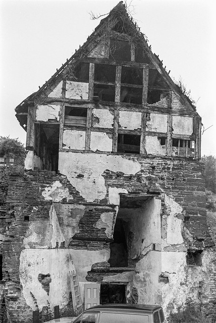 Blast furnace, Gunns Mills, Flaxley, Forest of Dean, 1988 88-7b-63-positive_2400