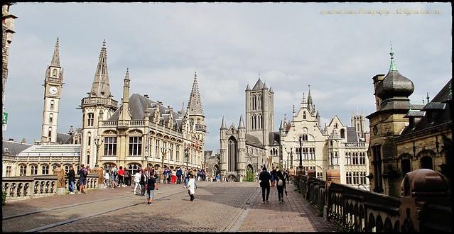 Bélgica - Gante - Uma cidade saída de um conto de fadas. Quem nunca sonhou visitar uma cidade, onde tudo nos leva a viajar para essa fascinante idade media que tanto inspira poetas, pintores, escultores e, acima de tudo, historiadores.