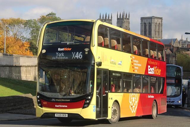 East Yorkshire 923 / YX20 OEB
