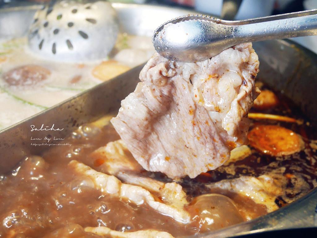 台北好吃麻辣鍋吃到飽推薦辛殿公館店cp質高有質感優質牛肉海鮮  (3)