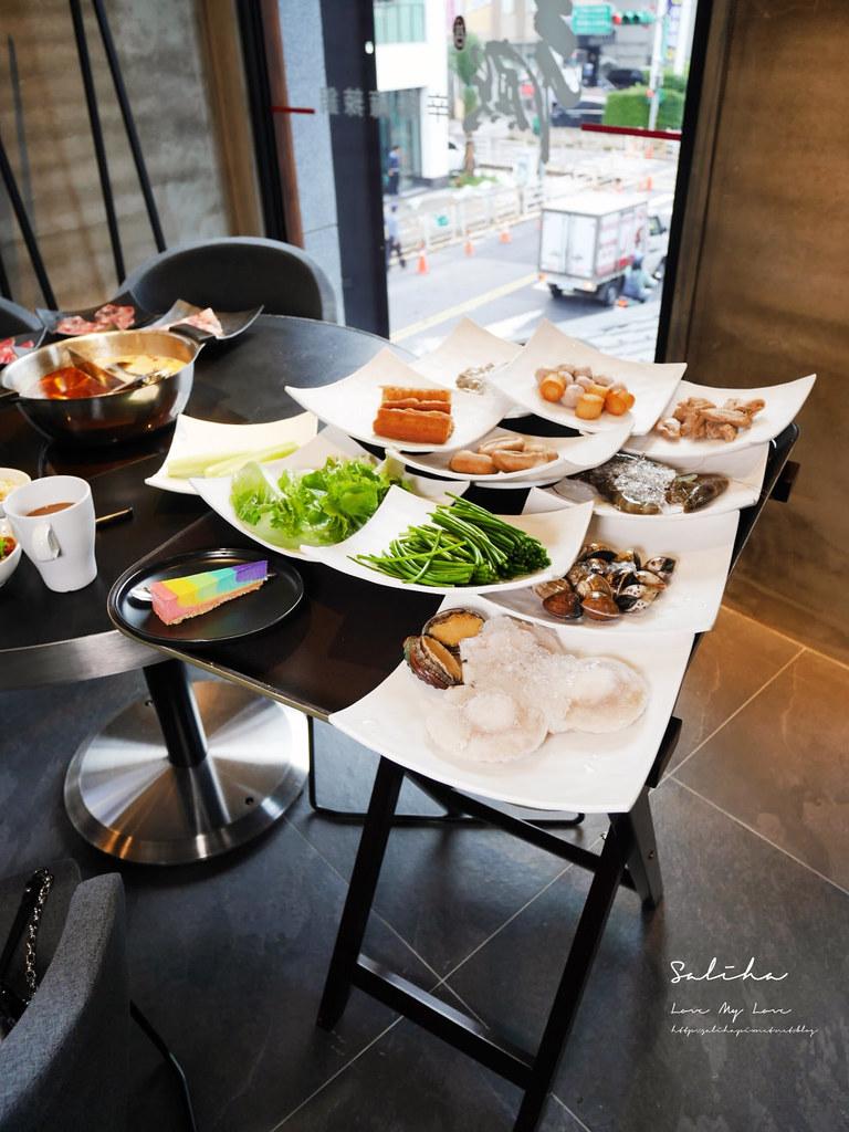 台北中正區公館站辛殿麻辣鍋吃到飽氣氛好浪漫舒服環境優火鍋餐廳 (3)