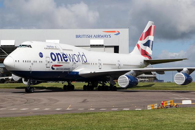 G-CIVC / British Airways / Boeing 747-436