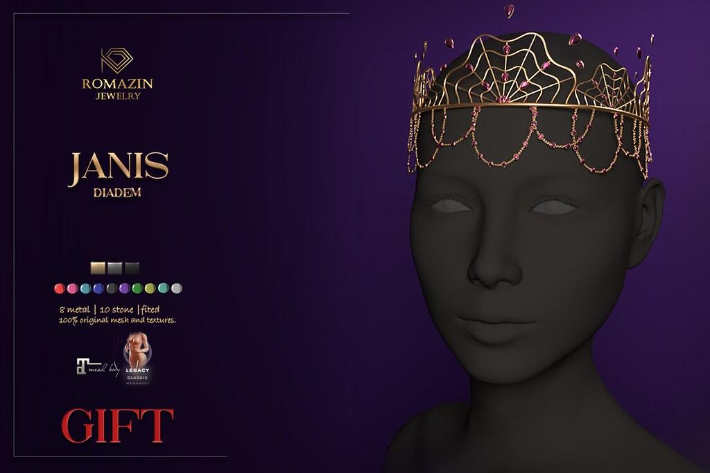 Romazin Diadem <Janis> – GIFT