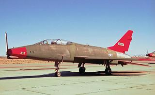 """63861 North American F-100F Super Sabre 'US Air Force""""."""