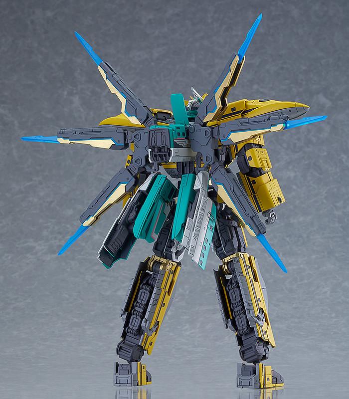 MODEROID Shinkalion E5隼號×黃博士號 《新幹線變形機器人》E5最強Cross合體型態!