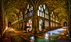 The 'Cloisterous' House of Mirrors: where what you see isn't always what you get!