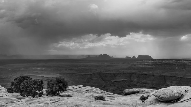 *Storm over Monument Valley*