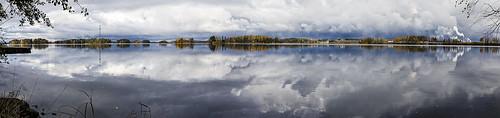 Lake Kallavesi in Mid-October